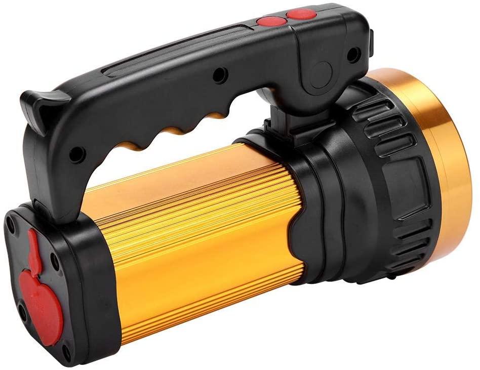 NITRIP Outdoor Spotlight Comfortable Handle Spotlight, Handheld Flashlight, LED Spotlight for Camping Practical