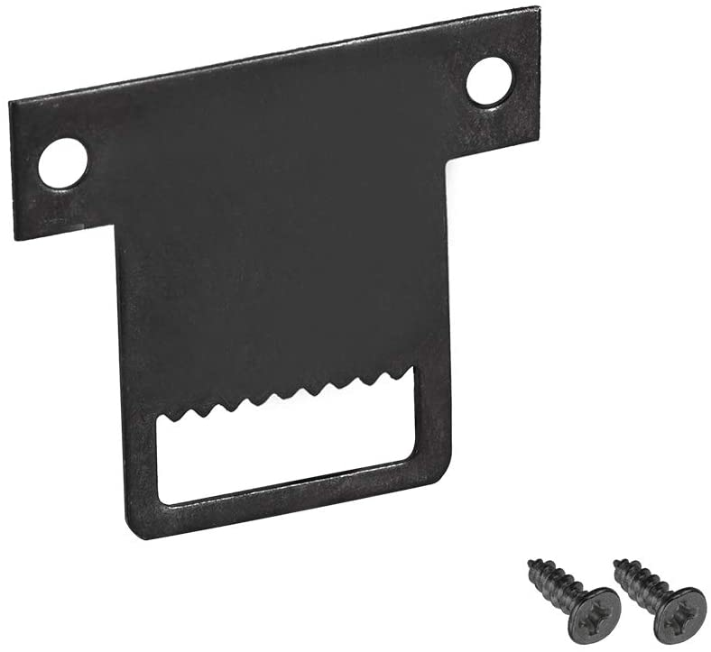 uxcell Sawtooth Picture Hangers, 32mm x 28mm Double Hole with Screws for Frame Hanging, 20 Pcs