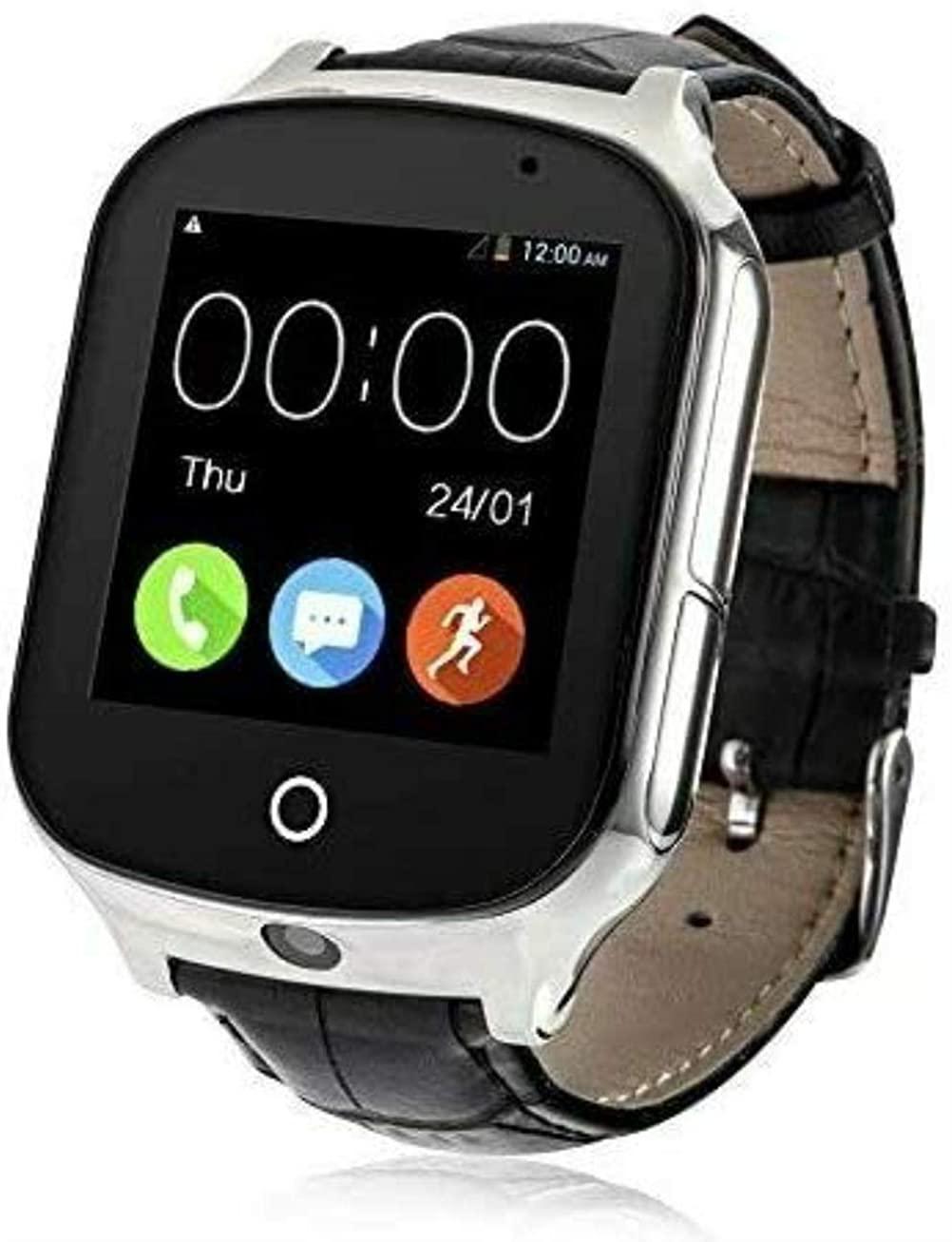 Drummond Smart Learning Watch, Kids Elderly GPS Smart Watch Phone Call Camera Pedometer Anti-Lost Tracker Watch