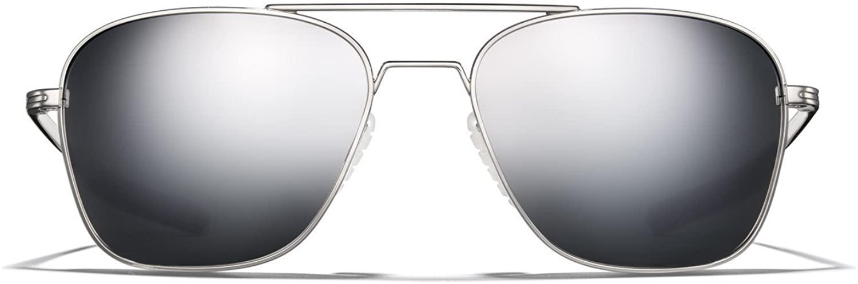ROKA Falcon Ti Performance Polarized and Non-Polarized Aviator Sunglasses for Men and Women