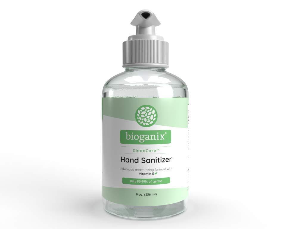 Bioganix CleanCare Hand Sanitizer Gel (8 oz Bottle)