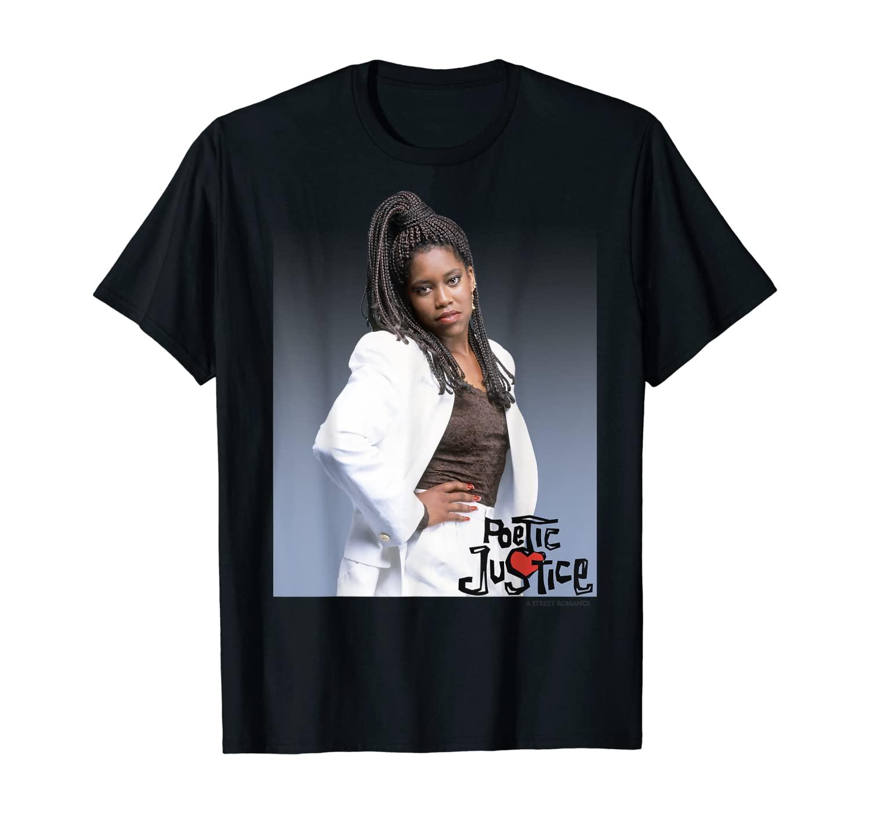 Poetic Justice Iesha Knows Portrait T-Shirt