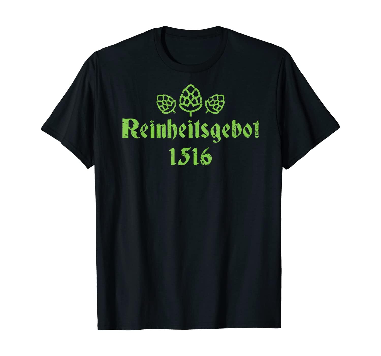 Oktoberfest Reinheitsgebot - German Beer T-Shirt