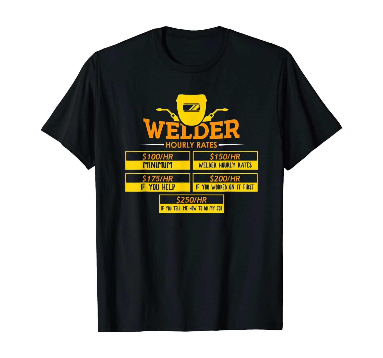 Welder Tshirt for a Welding Steelsmith T-Shirt