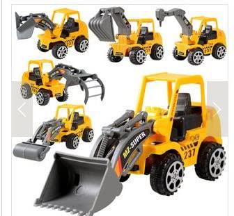 7haofang Kids Toy Mini Engineering Vehicle Car Truck Excavator Model Toys Boy Gifts