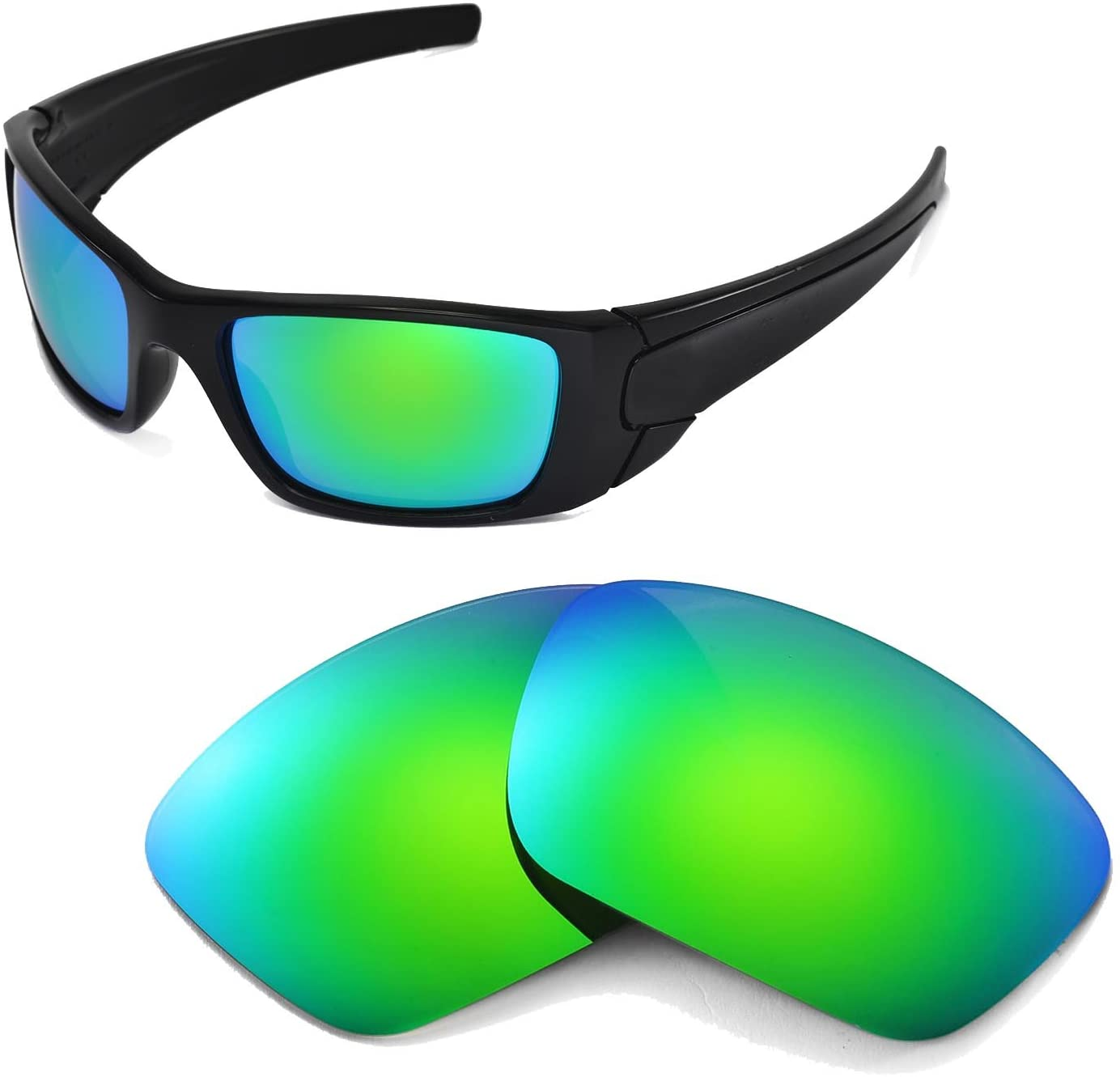Walleva Replacement Lenses for Oakley Fuel Cell Sunglasses - 17 Options Available