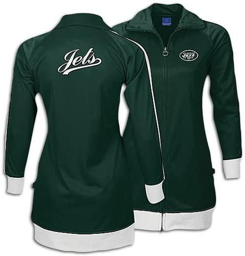 Jets Reebok Women's NFL Dress E. Track Jacket ( sz. XXL, Green : Jets )