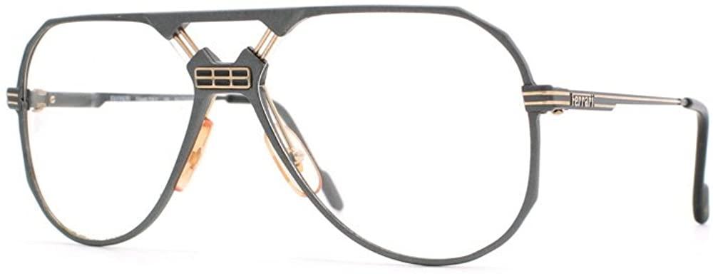 Ferrari 23 701 Grey Authentic Men Vintage Eyeglasses Frame