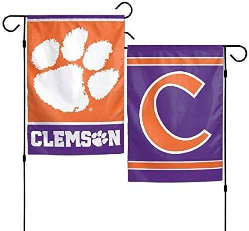 NCAA Clemson Tigers Garden Flag