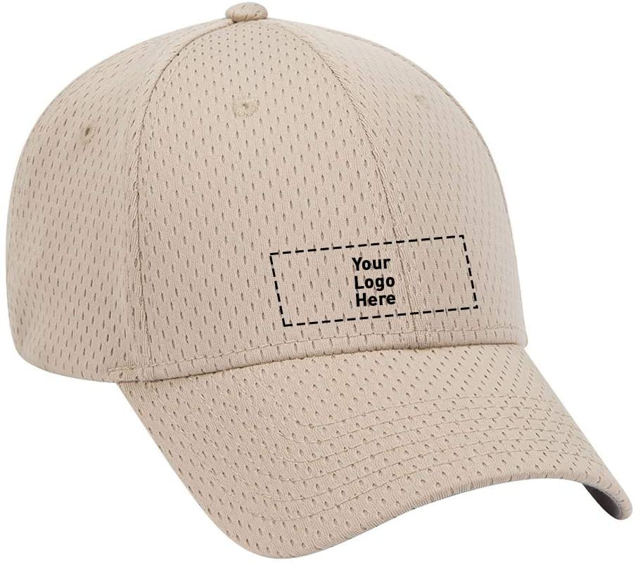 Polyester Pro Mesh Cap |144 Qty |10.10 Each |Customization Product Imprinted & Personalized Bulk with Your Custom Logo