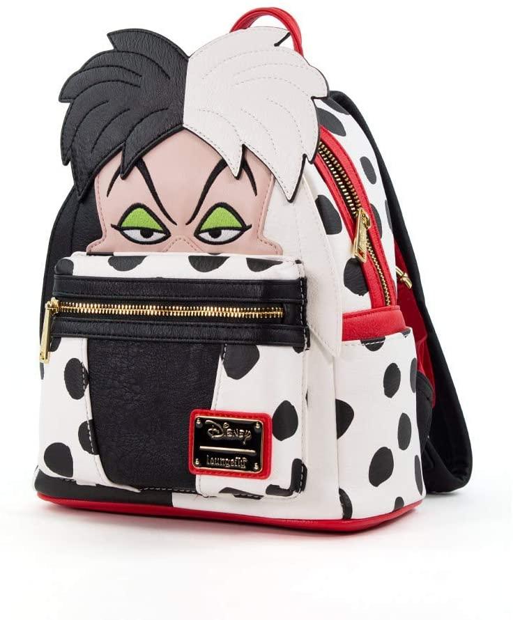 Loungefly Disney Cruella DeVil Faux Leather Mini Backpack Standard