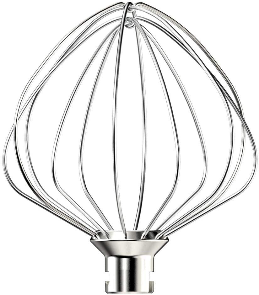All-Metal Whisk for SanLidA Stand Mixer SM-1515, Top-Rack Dishwasher Safe