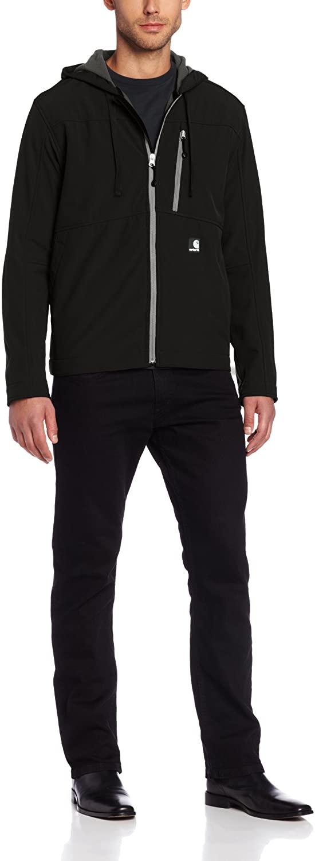 Carhartt Men's Big & Tall Soft Shell Hooded Jacket Ripstop
