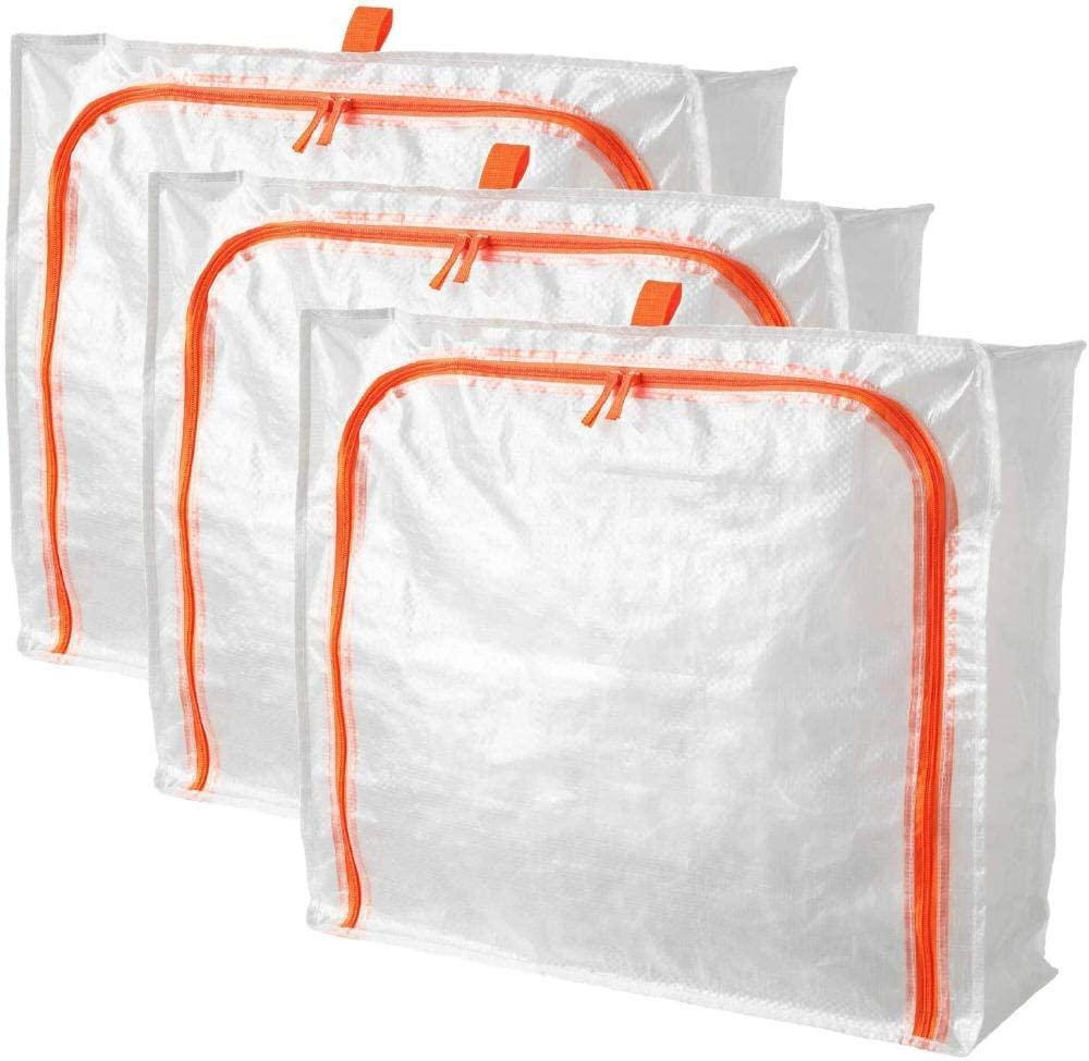 Pärkla IKEA Storage Bags 3 Pack, Underbed Storage Box, Waterproof, Dustproof