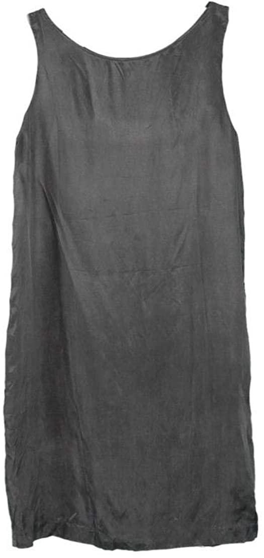 Madewell Won Hundred x Women's Sophia Silk Dress Shift Black Sz 40/US 10