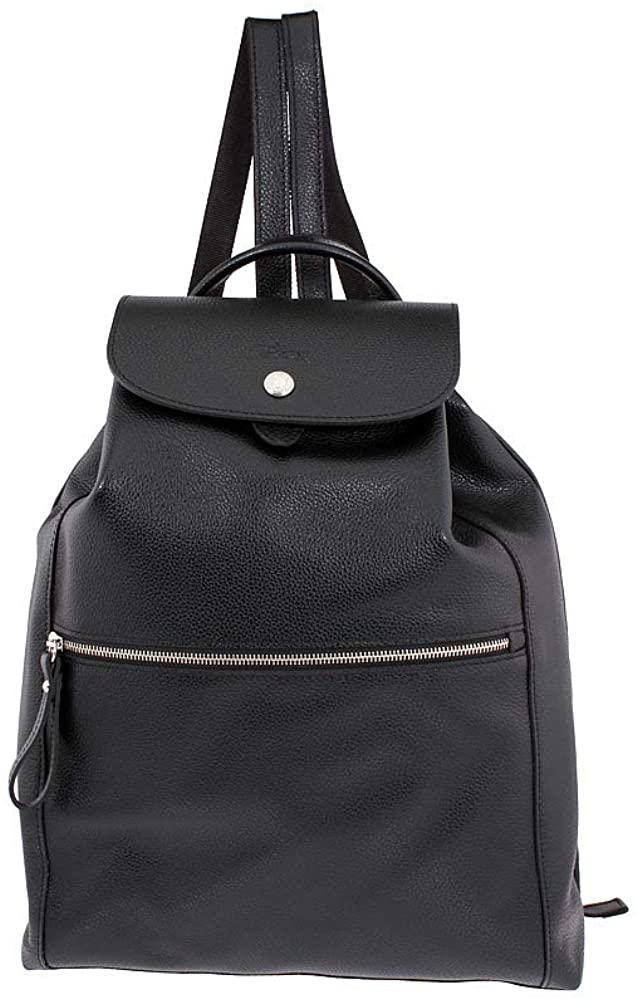 Longchamp Le Foulonne Ladies Medium Leather Backpack L1550021047