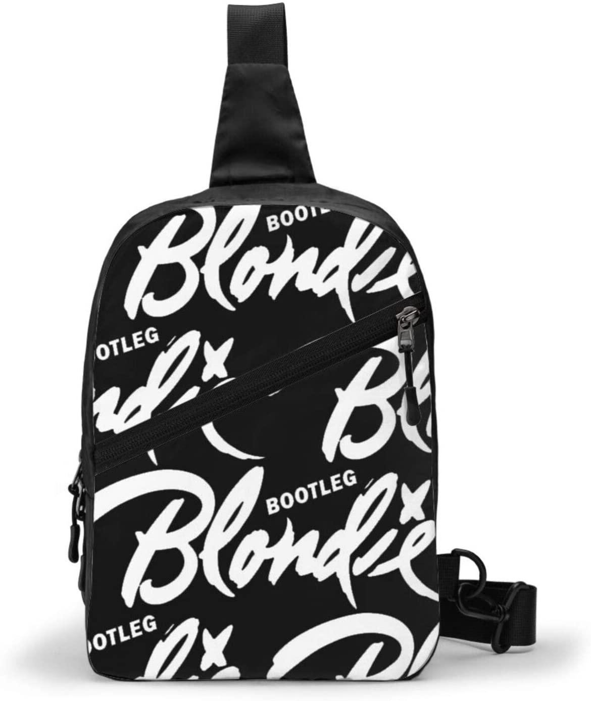 Blondie Backpack Cross Body Bag Sling Bag Chest Pack Bag Men/Women Folding Chest Bag