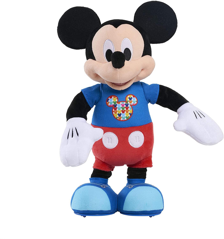 Mickey Hot Dog Dance Break Mickey Plush - Brown Mailer