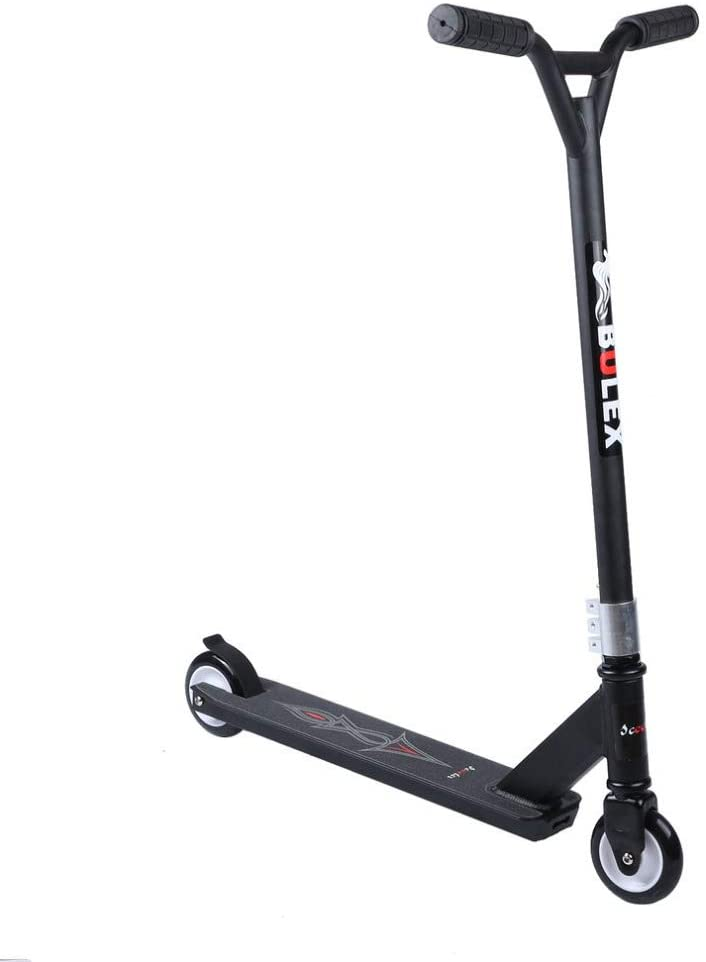 Adult Scooter,Two Wheels Cool Extreme Skateboard Kick Scooter Wonderful Gift Tailored for Urban Young People More Secure and Comfort