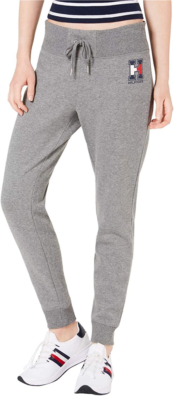 Tommy Hilfiger Womens Logo Casual Sweatpants