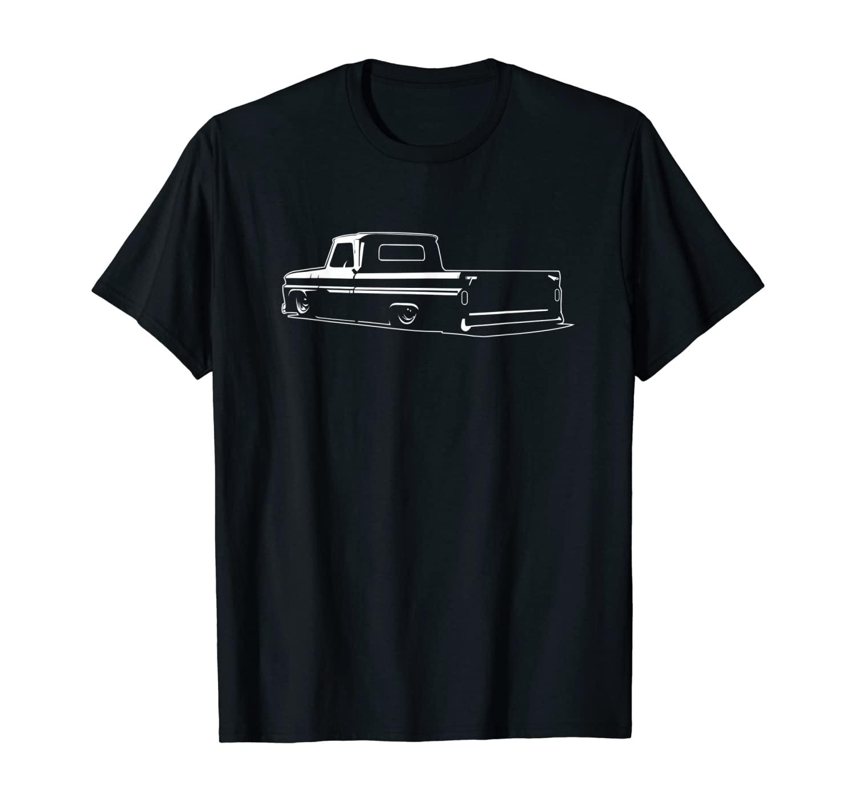 60-66 Mini C10 Truck, Slammed, Lowrider, Dropped T-Shirt