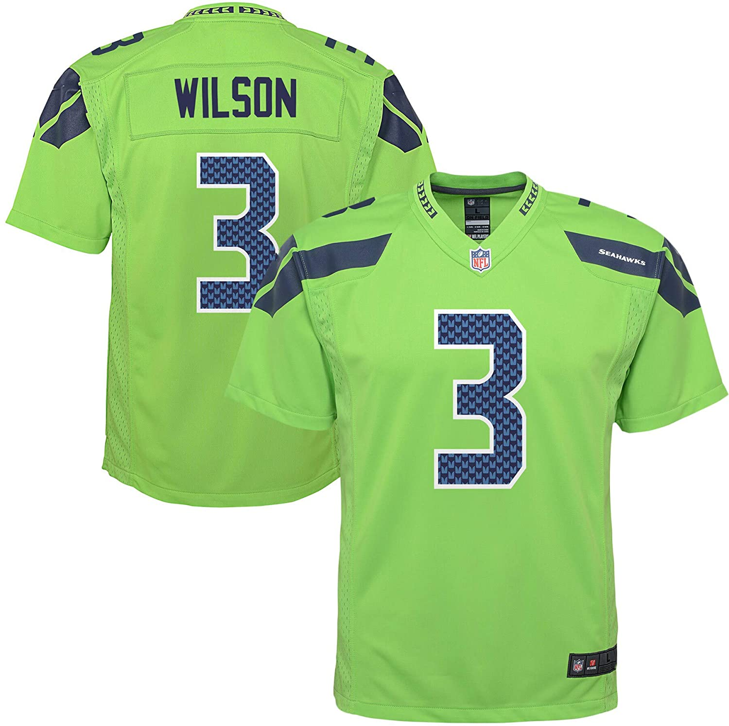 NFL Youth 8-20 Color Rush Alternate Color Game Day Player Jersey