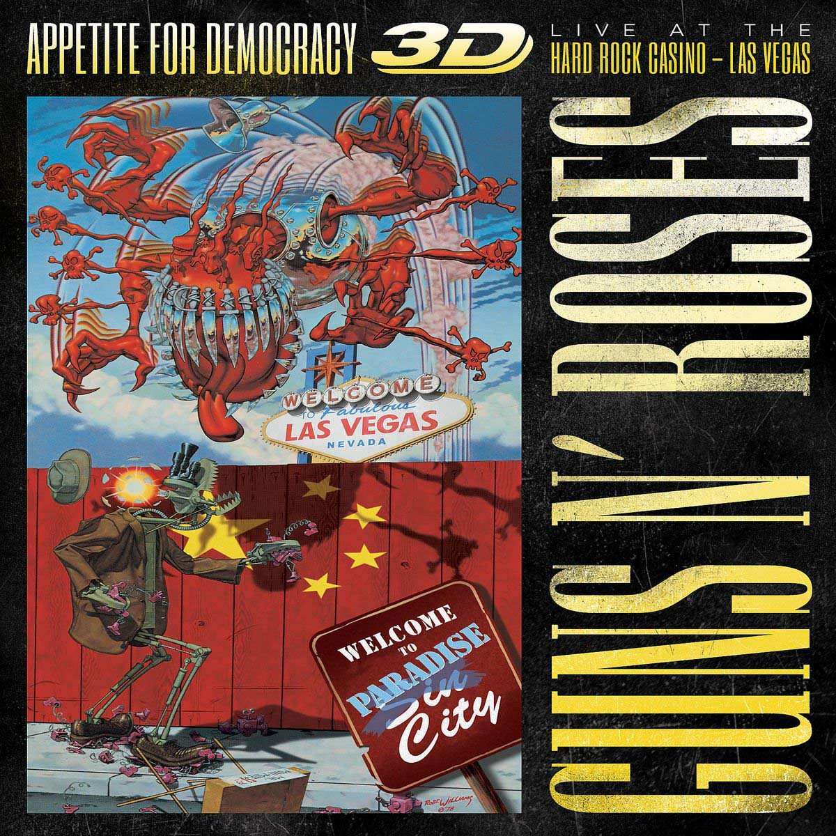 Appetite For Democracy 3D: Live At The Hard Rock Casino, Las Vegas - Standard Edition