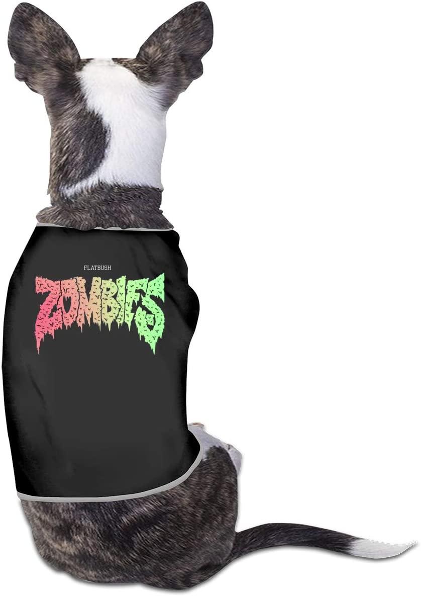 Qq1-asd-store Flatbush Zombies Pet Clothes Animals Vest Tracksuit Dog Cat Puppy Costumes