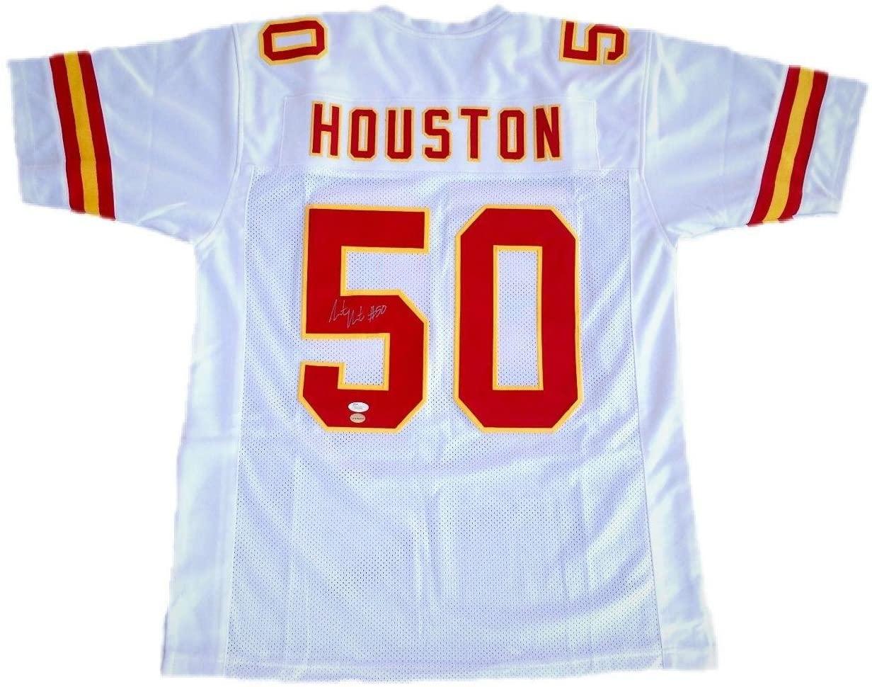 Justin Houston Signed Kansas City Chiefs Jersey JSA - Autographed NFL Jerseys