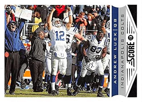 Andrew Luck football card (Indianapolis Colts) 2013 Panini Score #88