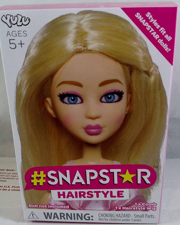YuLu Blonde Snapstar Hairstyle Wig