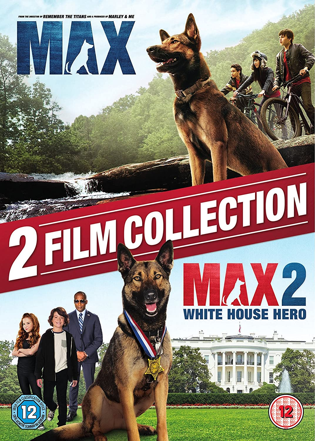 Max 1 and 2 [DVD] [2017]