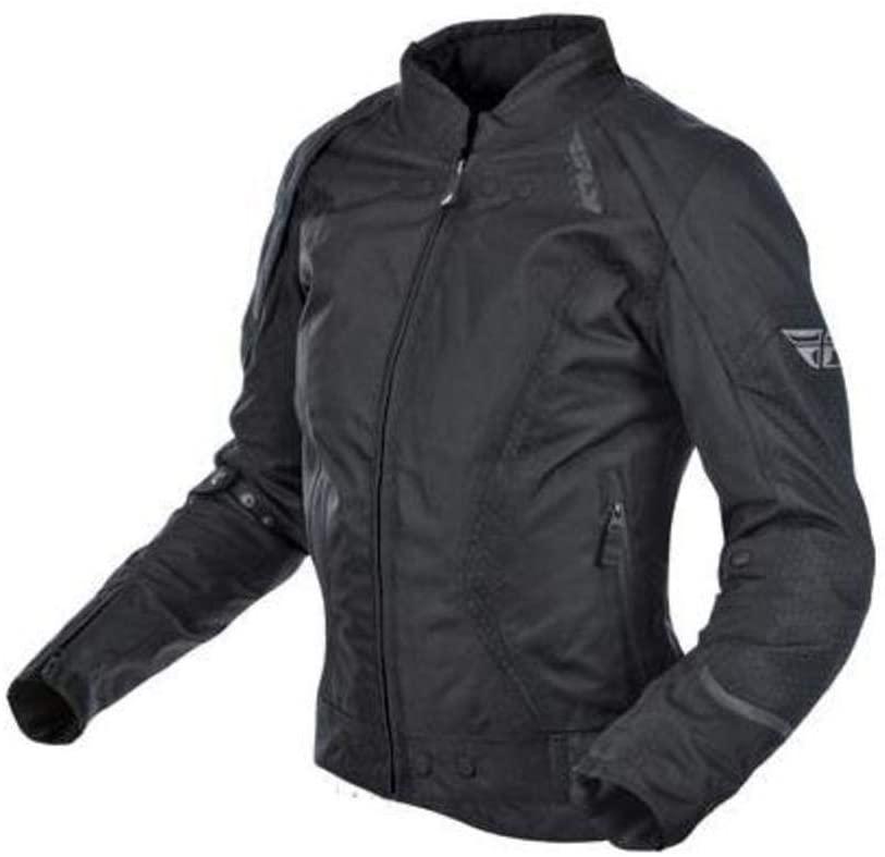 Black Sz S Fly Racing Butane Women's Textile Jacket