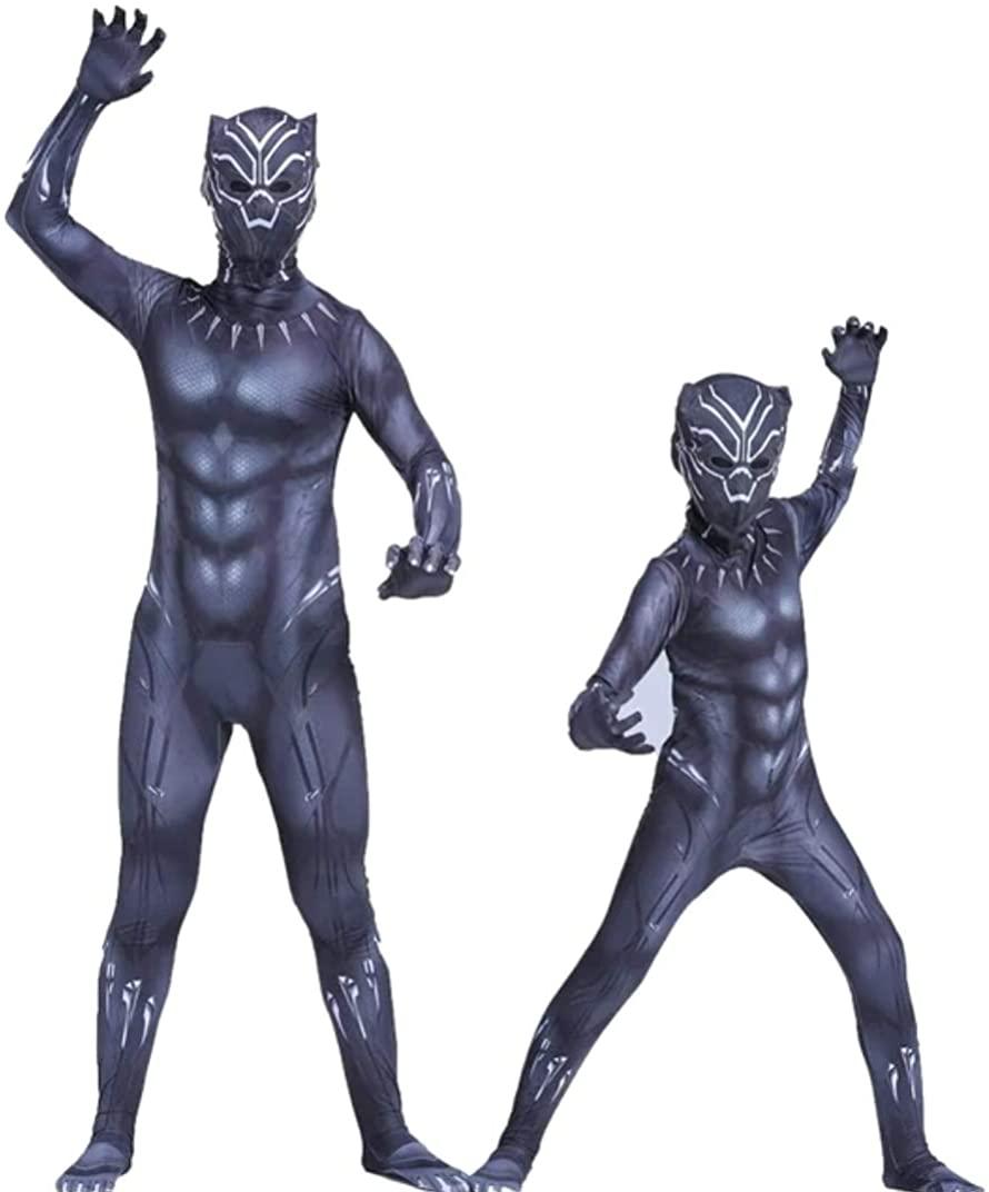 Marvels Black Panther Costume for Boys