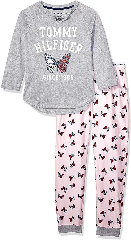 Tommy Hilfiger Girls' 2 Piece Sleepwear Sets