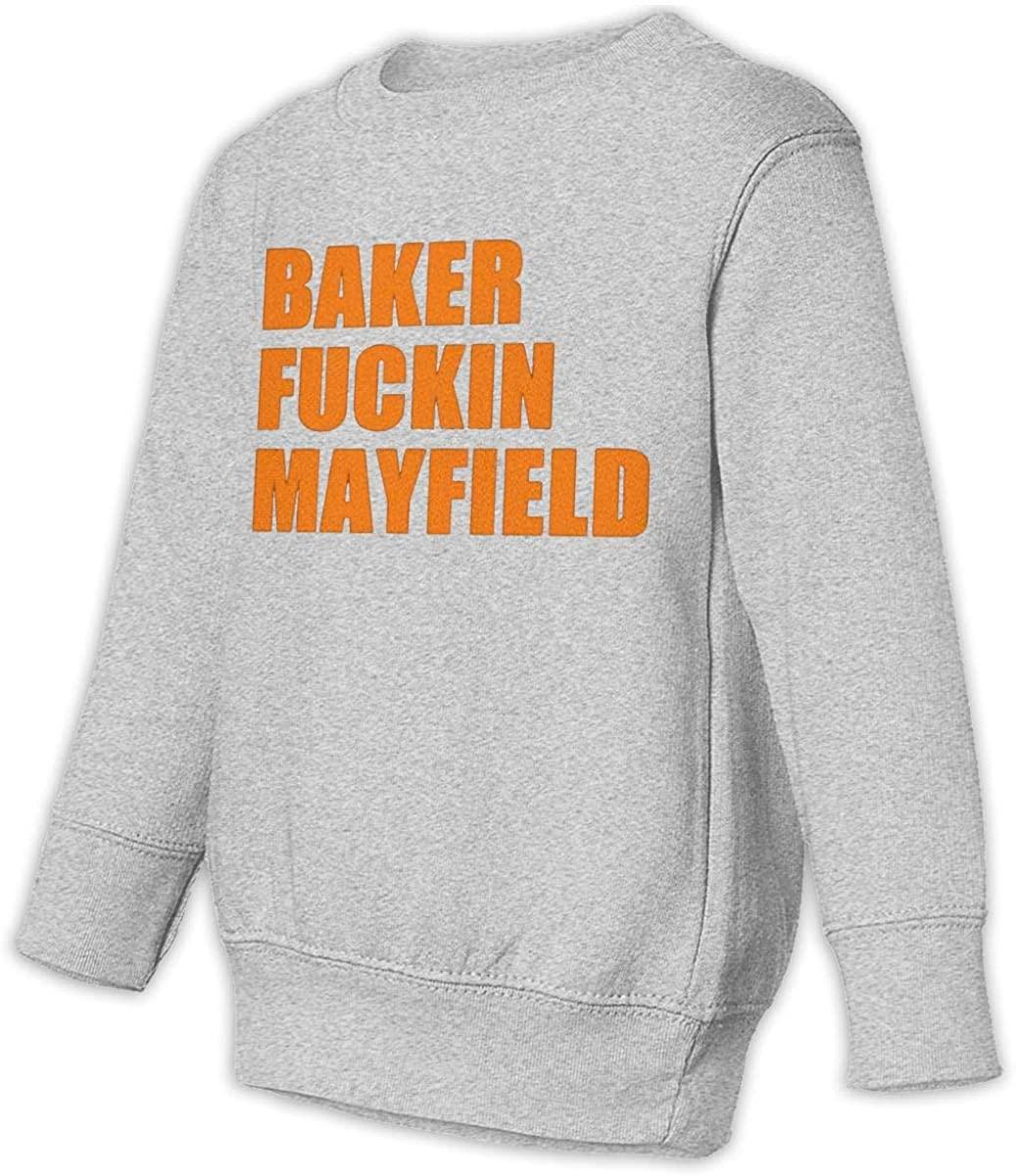 Baker Fckn Mayfield Toddler Juvenile Sweatshirt