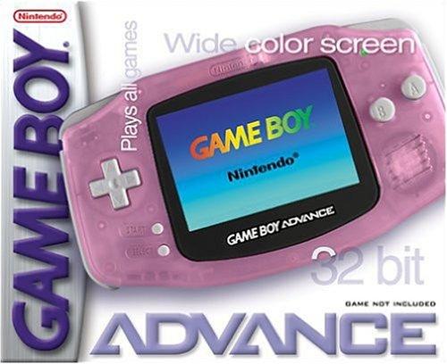 Game Boy Advance - Fuchsia