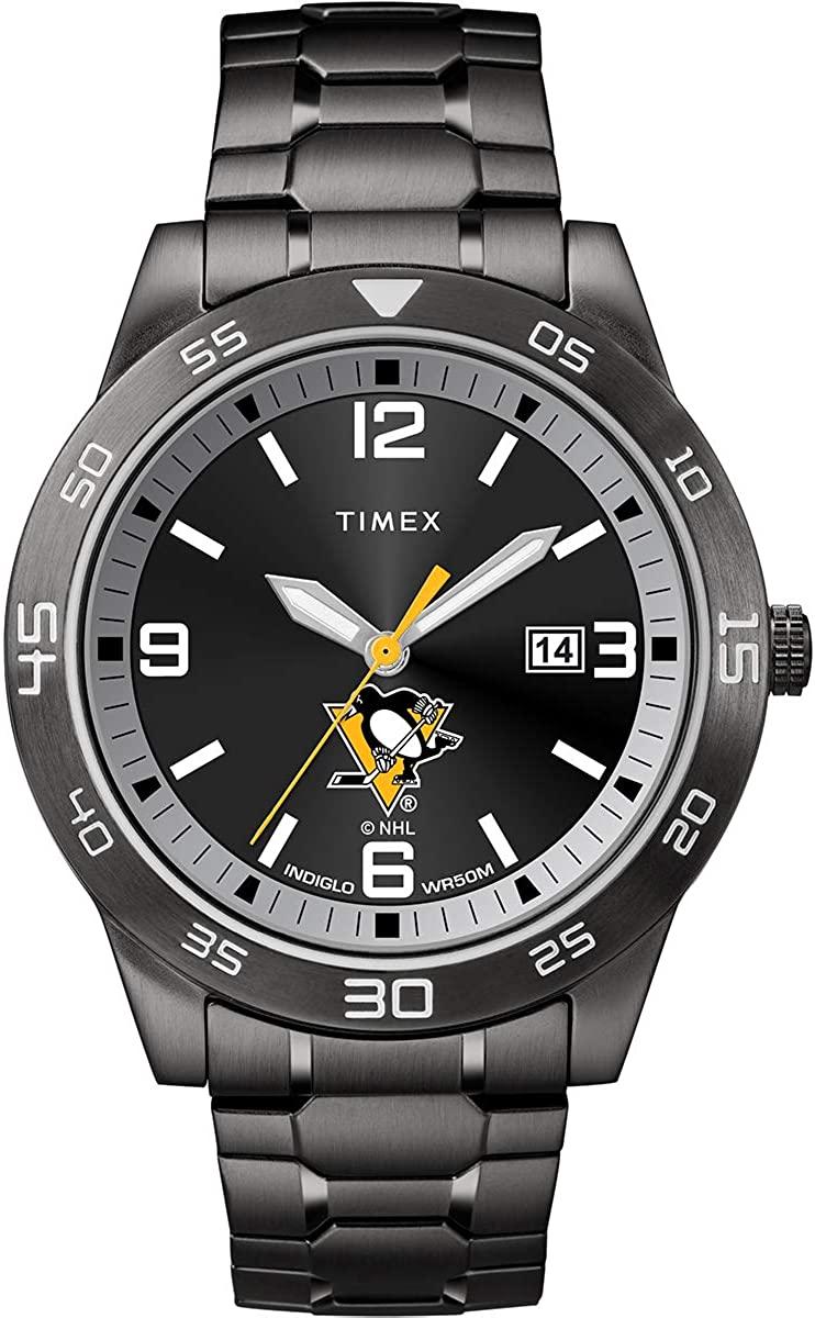 Timex Men's TWZHPNGMM NHL Acclaim Pittsburgh Penguins Watch