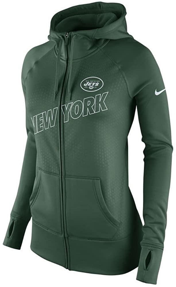 Nike New York Jets Women's X-Large Stadium KO Hoodie Sweatshirt