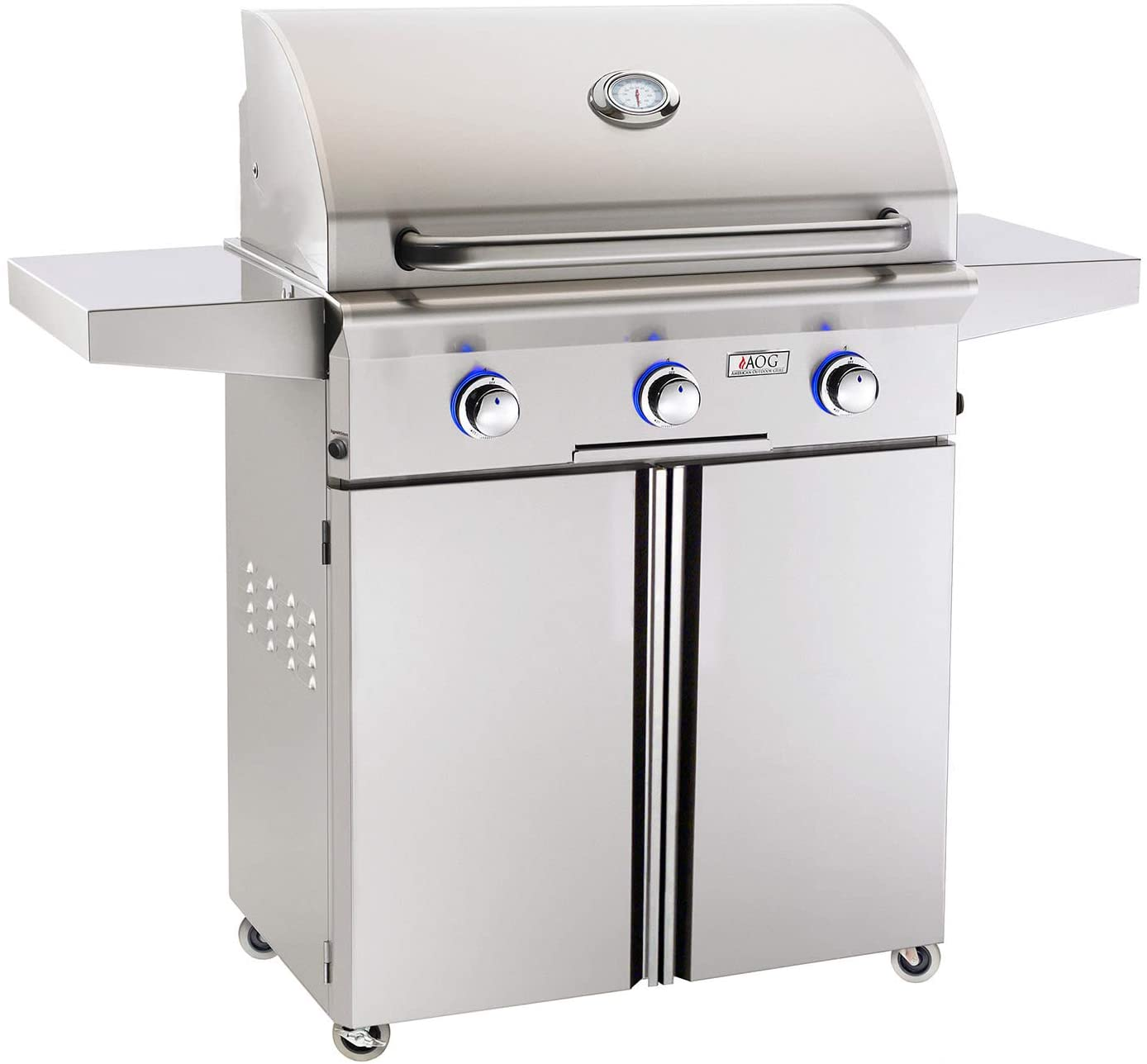 AOG American Outdoor Grill 30PCL-00SP L-Series 30 inch Propane Gas Grill On Cart