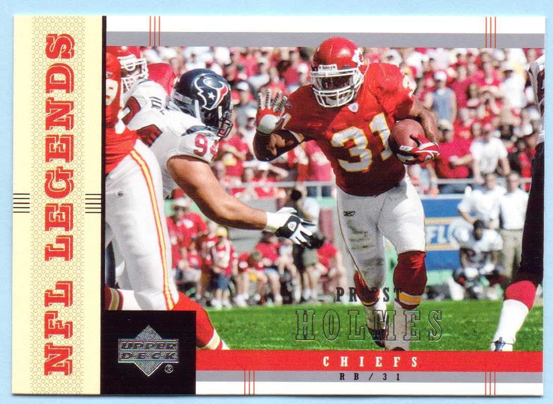 Priest Holmes 2004 UD NFL Legends #44 - Kansas City Chiefs