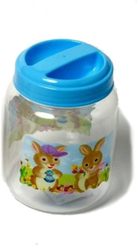 Chef Craft Easter Storage Jar Rabbits 8.5