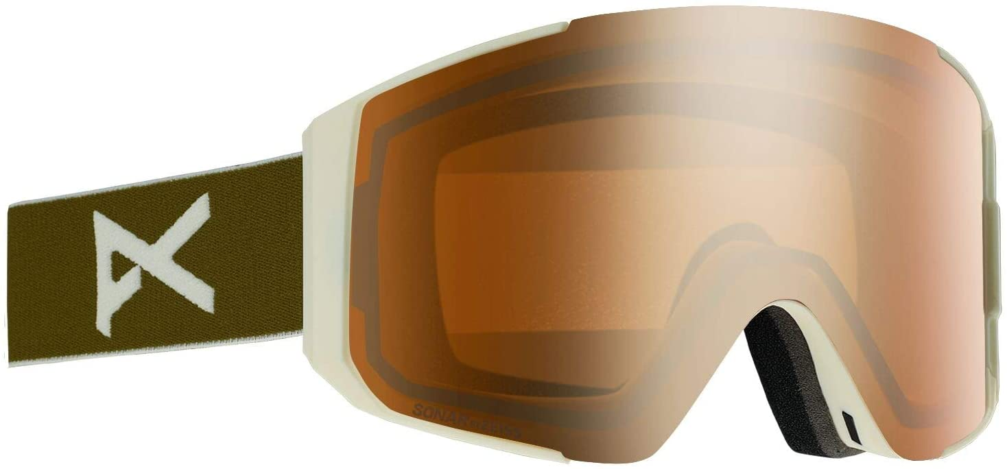 Anon New Men's Sync Ski/Snowboard Goggle with Spare Lens