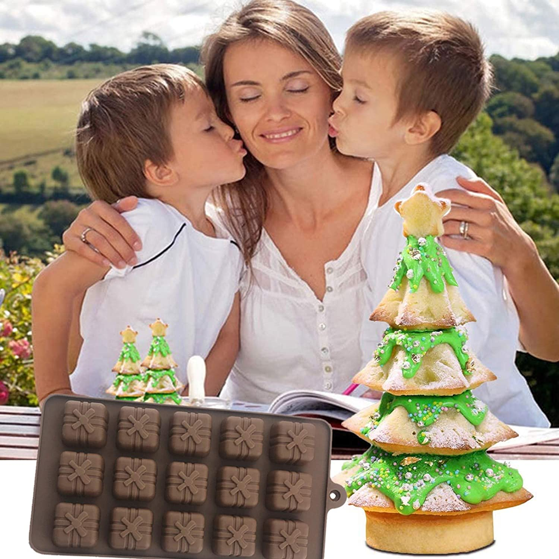 ZhiLoeng Chocolate Silicone Mold, Silicone Cake Mold DIY Chocolate Cupcake Cake Muffin Baking Mold for Chocolate, Cake, Jelly, Pudding,Sphere Mold Non Stick