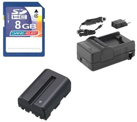 Sony Alpha SLT-A65 Digital Camera Accessory Kit Includes: SDNPFM500H Battery, SDM-101 Charger, KSD48GB Memory Card