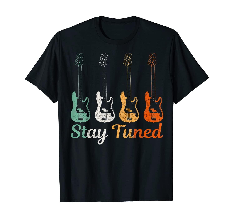 Bass Guitar Vintage Funny Bass Player Bassist Gift T-Shirt