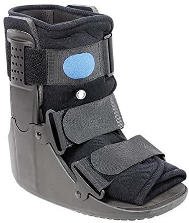 Advanced Orthopaedics Low Profile Low Top Air Walker, Small - Mens Size 4 1/2 - 7, Womens Size 6 - 8