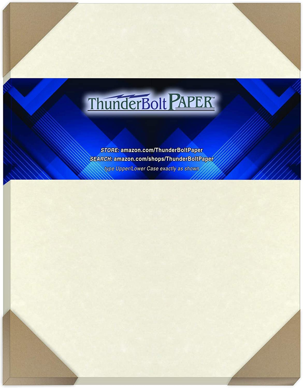 350 Soft White Parchment 60# Text (=24# Bond) Paper Sheets - 8.5 X 11 Inches Standard Letter|Flyer Size Size - 60 Pound is Not Card Weight - Vintage Colored Old Parchment Semblance
