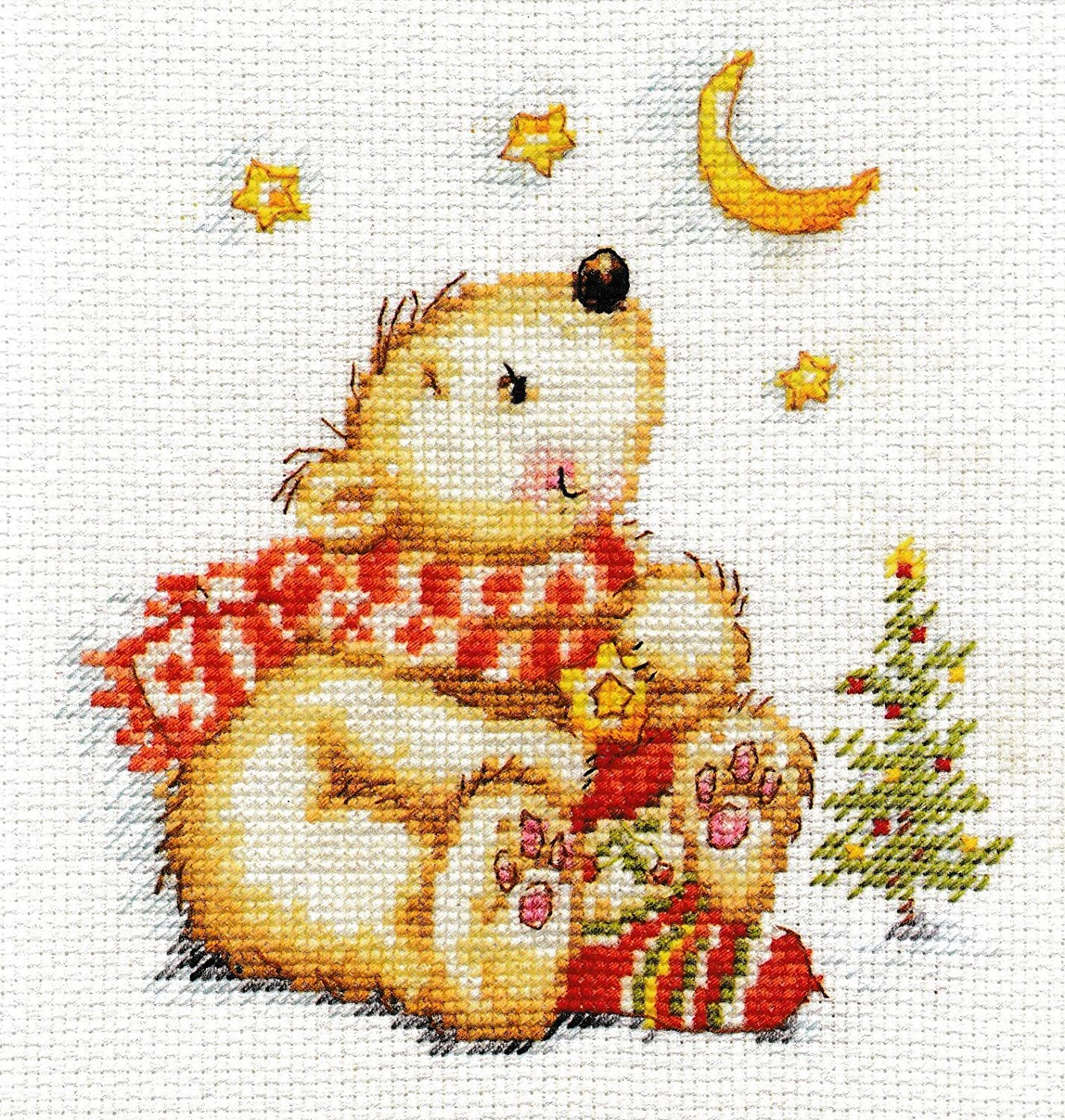 Unprinted Counted Funny Needlework Cross Stitch Kit (Let Come True! 0-125)