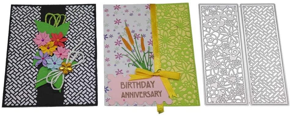 New Flower Heart Metal Cutting Dies Stencils DIY Scrapbooking Album Paper Card, Cake Mould, Home & Garden, Furniture, Shipping from USA
